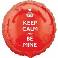 Шар-круг Keep Calm and Be Mine